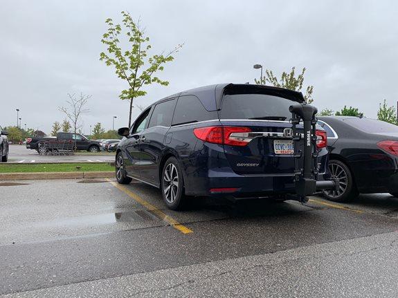 Honda Odyssey Rack Installation Photos
