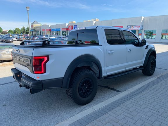 Ford F 150 Raptor 4DR Super Crew Rack Installation Photos