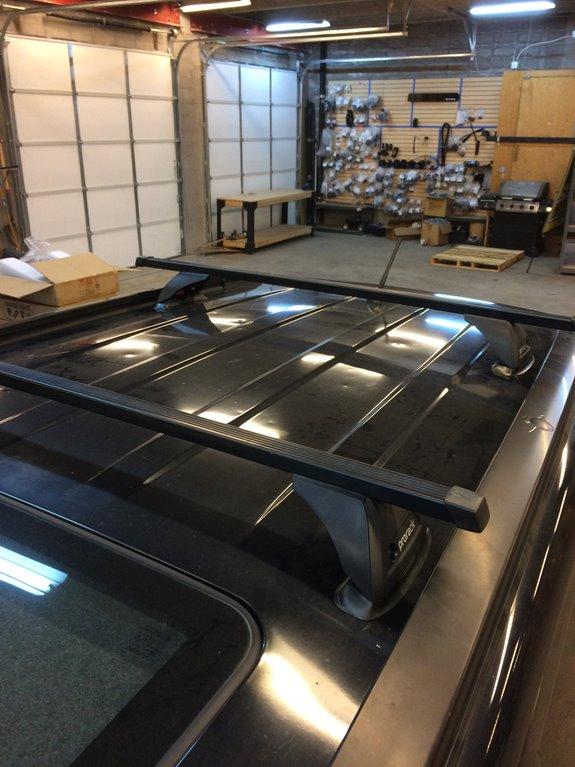 Suzuki Grand Vitara 4dr Rack Installation Photos