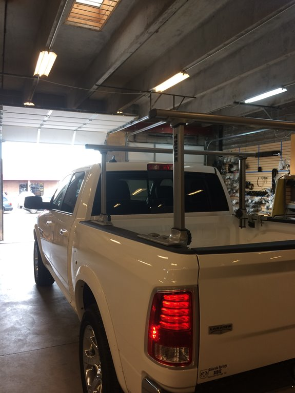Dodge Ram Pickup 1500 Crew Cab Rack Installation Photos