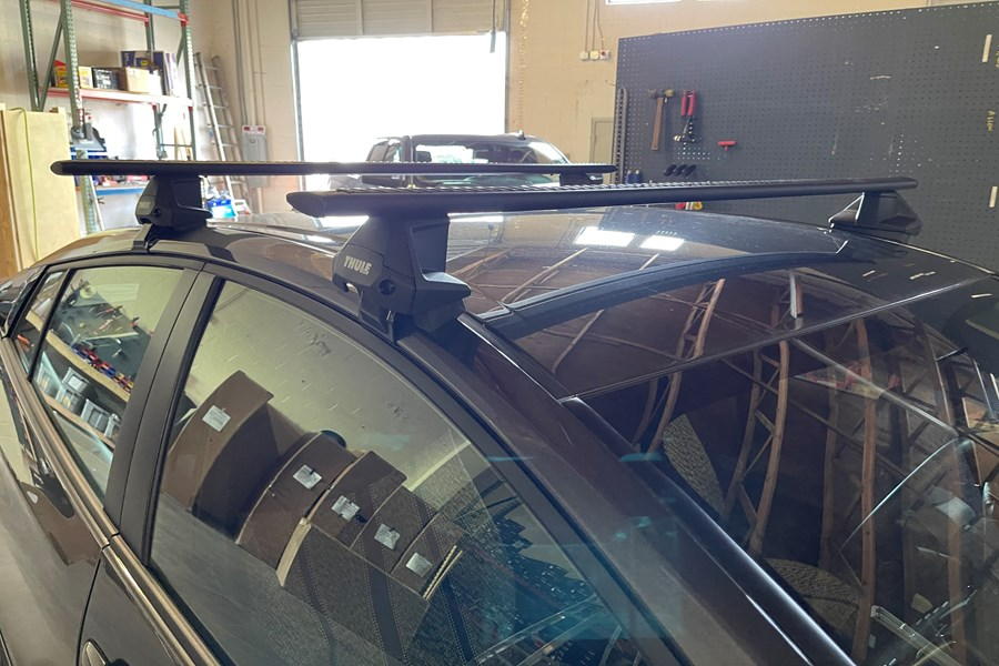 Audi A3 Wagon Rack Installation Photos