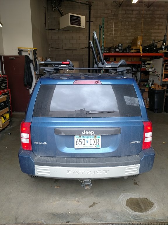 Jeep Patriot Rack Installation Photos
