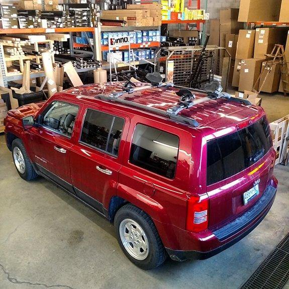 Jeep Liberty Rack Installation Photos