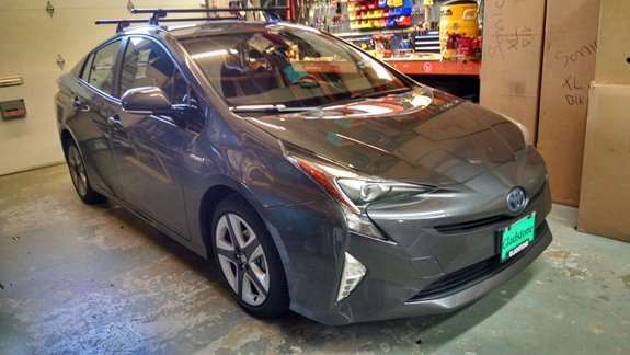 Amazing A Custom Track Install With Crossbars On A 2016 Prius