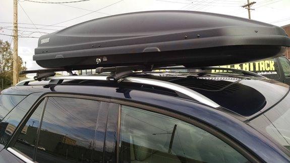 Mercedes Benz M Class Suv Rack Installation Photos