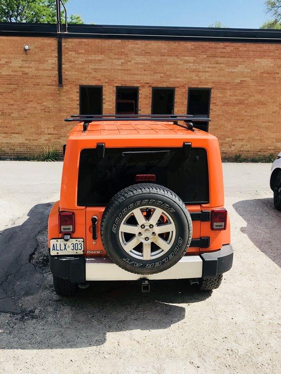 Jeep Wrangler Kayak Rack >> Jeep Wrangler JL Unlimited Hardtop 4DR Rack Installation ...