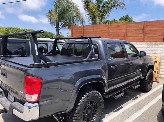 Toyota Tacoma Double Quad Cab Rack Installation Photos
