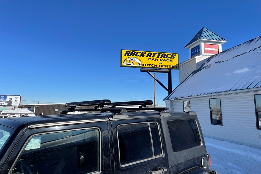 Kia Optima Base Roof Rack Systems installation