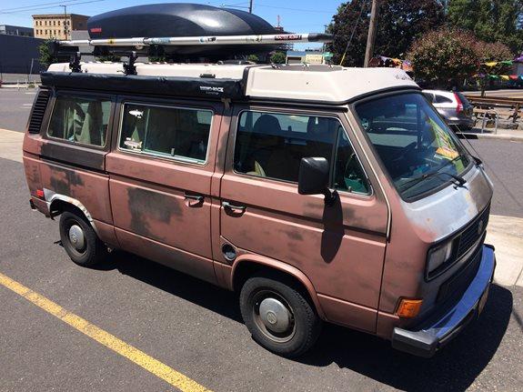 Volkswagen Vans (Westfalia) (camper) Rack Installation Photos