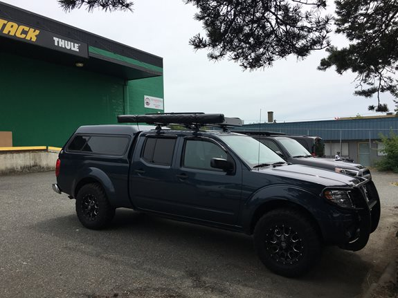 Nissan Frontier Crew Cab Rack Installation Photos