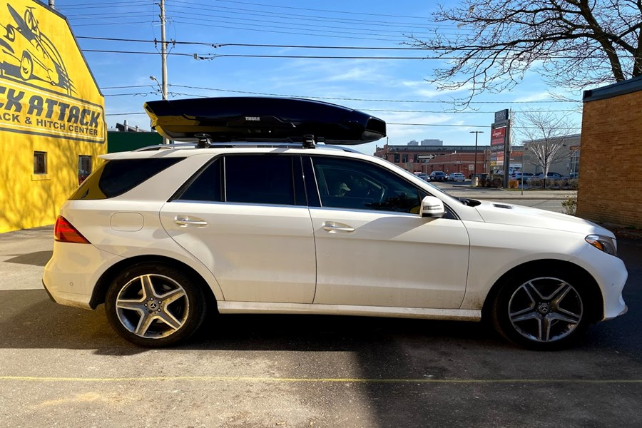 Mercedes Benz GLE Class Cargo & Luggage Racks installation