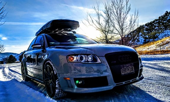 Inno Roof Rack >> Audi RS4 4DR Rack Installation Photos