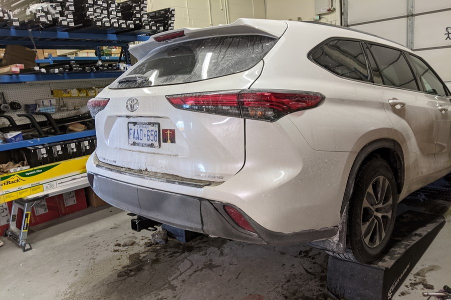 Toyota Highlander Other Products installation