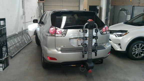 Lexus Rx350 Rack Installation Photos
