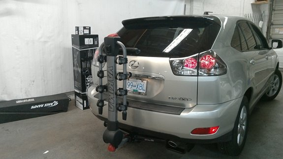 Lexus Rx350 Rack Installation Photos
