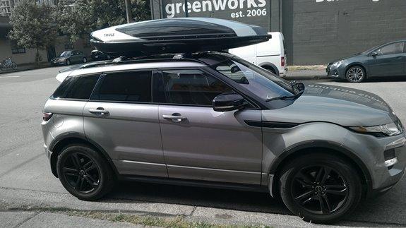 Thule Ski Rack >> Land Rover Evoque 5dr Rack Installation Photos
