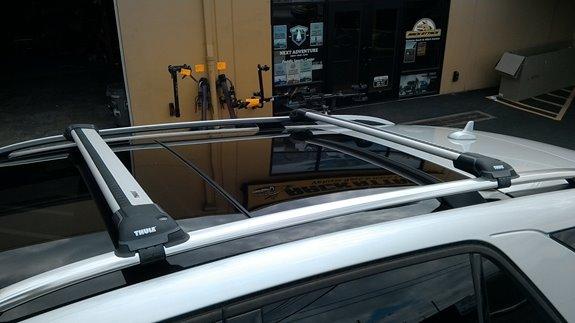 Mercedes Benz Gle Class Rack Installation Photos