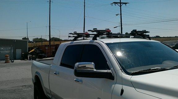 Dodge Ram Pickup 2500/3500 Mega Cab Rack Installation Photos