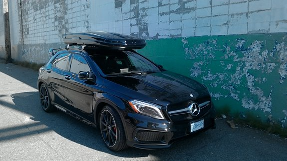 Mercedes Benz Gla Class Rack Installation Photos