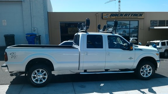 Ford F 250 350 450 Crew Cab Rack Installation Photos