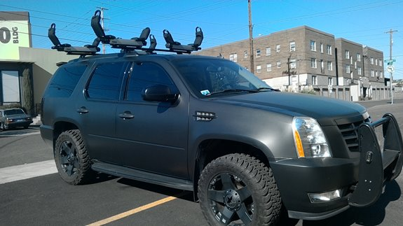 Cadillac Escalade Rack Installation Photos