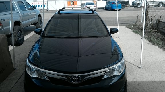 Check Out This Custom Whispbar Base Rack On A 2014 Toyota Camry