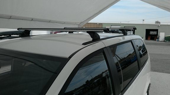 Dodge Caravan Dual Door Rack Installation Photos