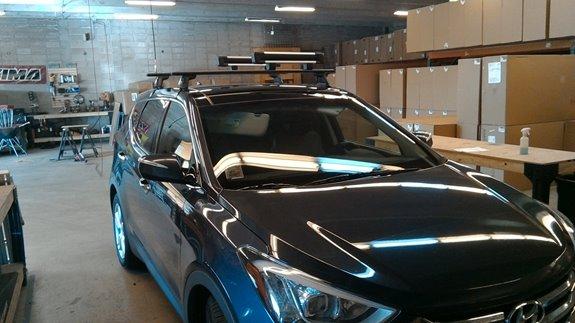 Hyundai Santa Fe Santa Fe Sport Rack Installation Photos
