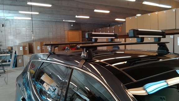 Fit Kit for Thule Podium-Style Roof Rack Feet - 4029 Thule