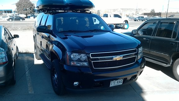 Chevrolet Suburban Rack Installation Photos