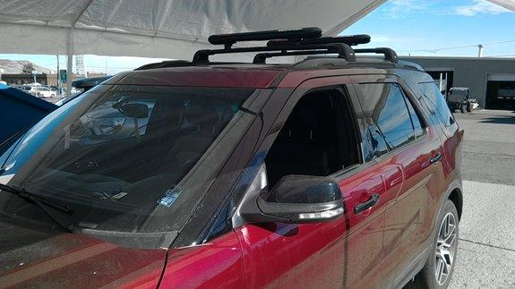 Ford Explorer Sport Rack Installation Photos