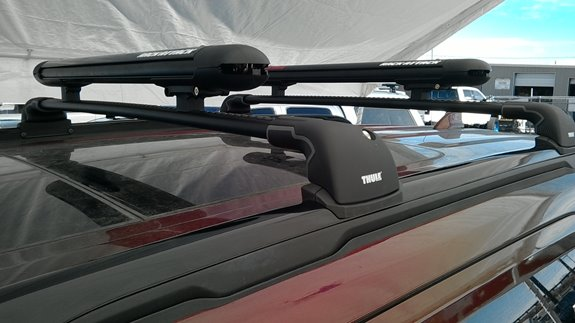 Ford Explorer Sport Rack Installation Photos