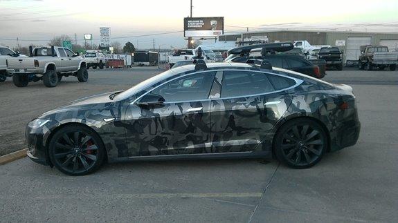 Ski Rack For Car >> Tesla Model S w/ Panoramic Roof 4dr Rack Installation Photos