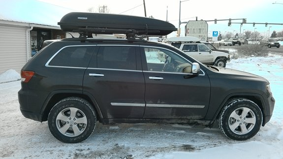 This Is A Thule Aeroblade Setup With Rocky Mounts Tomohawk Bike Racks (Rack  Attack Golden)