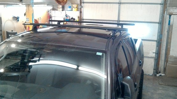 Toyota Tundra Crewmax Rack Installation Photos