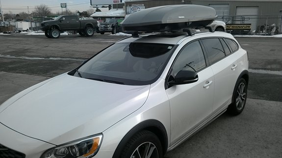 Volvo V60 Rack Installation Photos