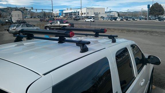 Chevrolet Tahoe Hybrid Rack Installation Photos