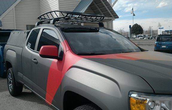 Gmc Canyon Ext Cab 4dr Rack Installation Photos