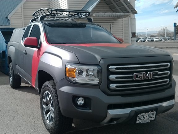 Gmc Canyon Ext Cab 4dr Rack Installation Photos