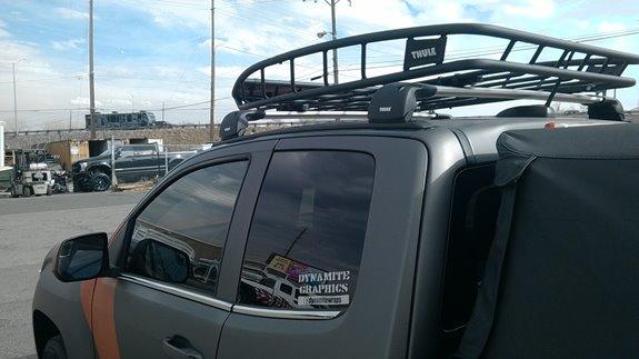 Chevy Colorado Accessories >> GMC Canyon Ext. Cab 4DR Rack Installation Photos