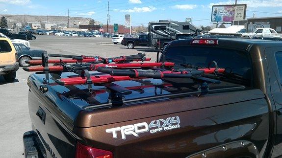 Ski Rack For Car >> Toyota Tundra 4dr Double Cab Rack Installation Photos