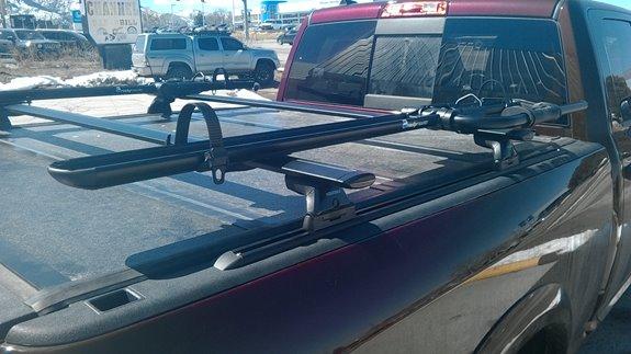 Dodge Ram Pickup 1500 Mega Cab Rack Installation Photos