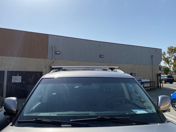 Infiniti QX56 Base Roof Rack Systems installation