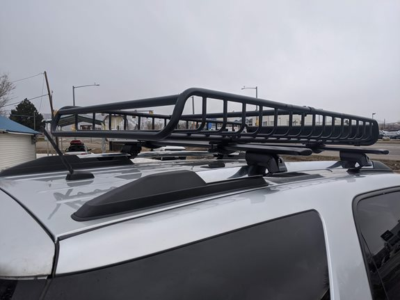 GMC Acadia Denali Cargo & Luggage Racks installation