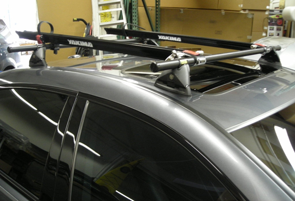 How To Secure A Kayak To A Roof Rack Acura TL 4 DR Rack Installation Photos
