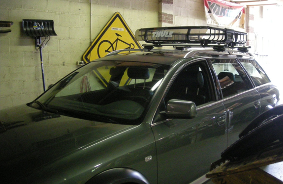 This Is A Custom 2005 Audi A4 Avant Allroad Cargo Basket Roof Rack System