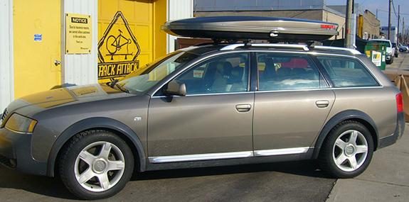Audi A6 Wagon Avant Rack Installation Photos