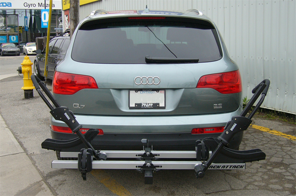 Audi Q7 Rack Installation Photos