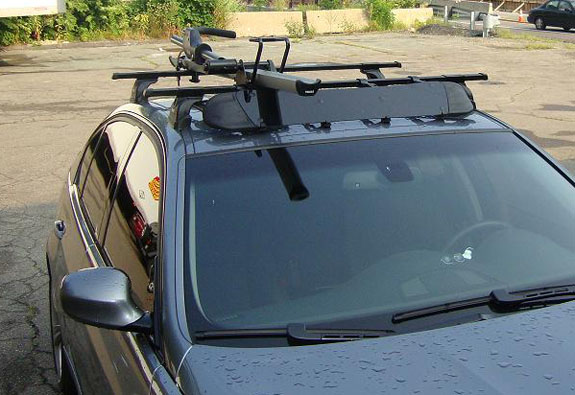 Great This Is A Custom 2007 BMW 3 Series 4dr Bike Roof Rack System