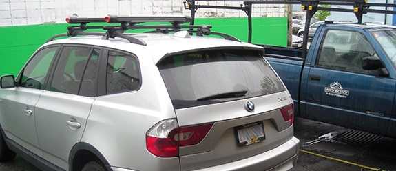 Bmw X3 Rack Installation Photos